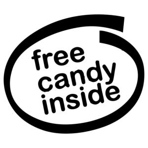 ingyen cukorka autómatrica kép