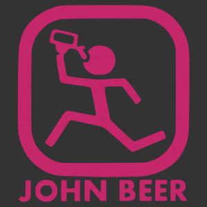 John Beer (John Deere utánzat) vicces autómatrica kép