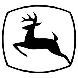 John Deere - Szarvas logó autómatrica kép
