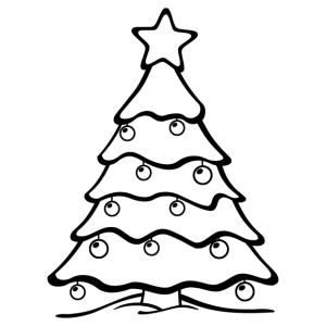 Karácsonyfa 11 matrica kép