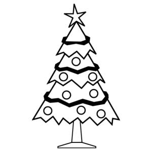 Karácsonyfa 12 matrica kép