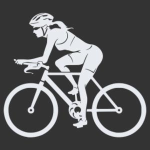 Kerékpáros 02 matrica kép