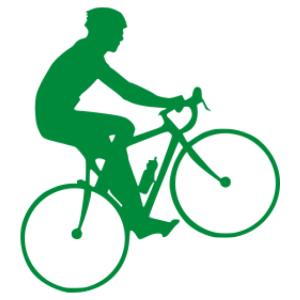 Kerékpáros 03 matrica kép