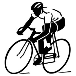 Kerékpáros 04 matrica kép