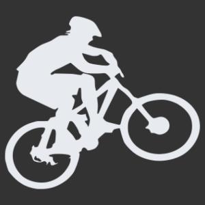 Kerékpáros 05 matrica kép