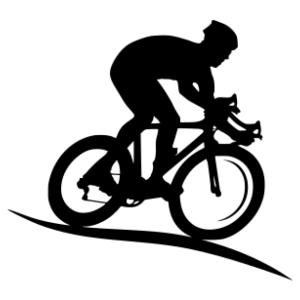 Kerékpáros 10 matrica kép