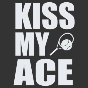 Kiss my ace tenisz sport matrica kép