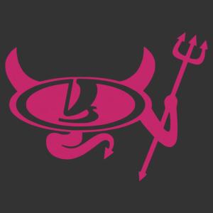 Lada ördög - jobb matrica kép