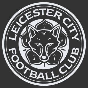 Leicester city matrica kép