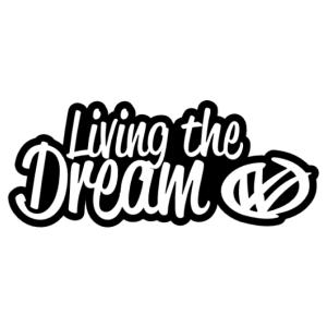 Living The Dream Volkswagen matrica kép