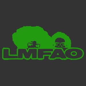 LMFAO logós autó matrica kép