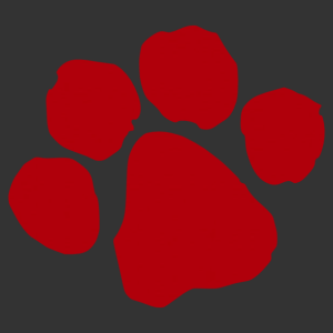 Macska lábnyom matrica kép