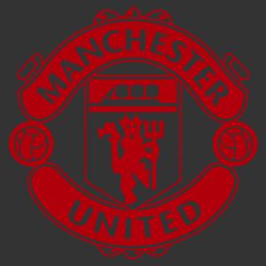 Manchester united matrica kép