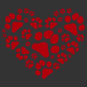 Mancs szív matrica kép