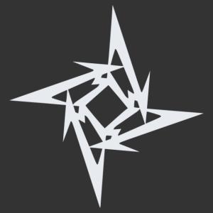 Metallica egymásba fonódó M betűs logó kép