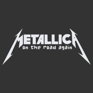 Metallica - On the road again (Turn the page) matrica kép