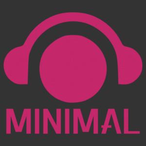 Minimal Techno feliratos és ikonos autómatrica kép