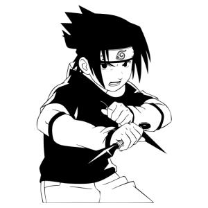 Naruto 04 matrica kép