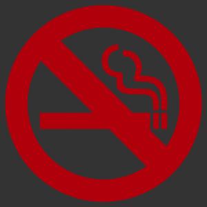 Nem dohányzó - Tilos a dohányzás matrica kép