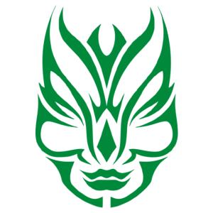 Nonfiguratív arc matrica kép