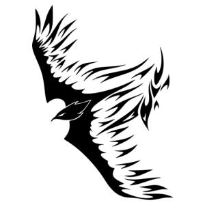 Nonfiguratív sas 05 matrica kép