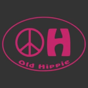 Old hippie - Öreg hippi vicces autómatrica kép