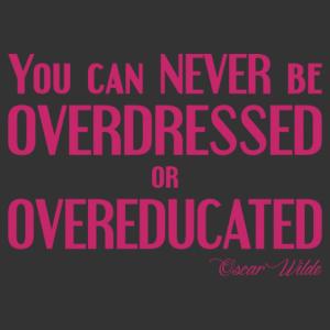Oscar Wilde - Sosem lehetsz túlöltözött matrica kép
