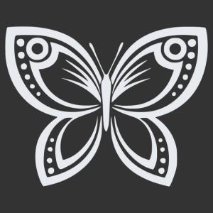 Pillangó 02 matrica kép