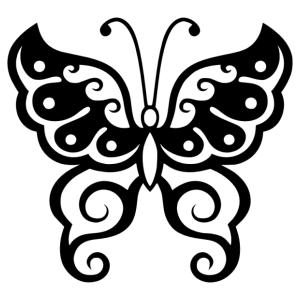 Pillangó 08 matrica kép