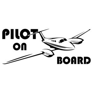 Pilot on board 003 matrica kép