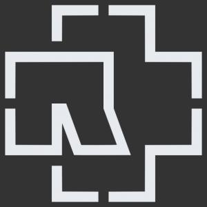 Rammstein logo matrica kép