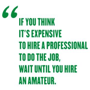 Red Adair - Ha azt gondolod túl drága egy profit alkalmazni, várj amíg egy amatőrt alkalmazol. kép