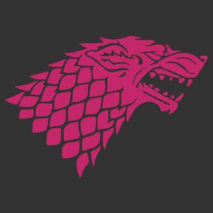 Rémfarkas fej (Trónok harca - Stark címer) falmatrica kép