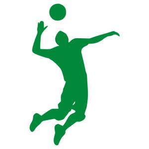 Röplabda férfi 02 matrica kép