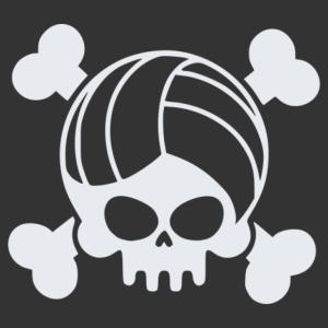 Röplabda halálfej matrica kép