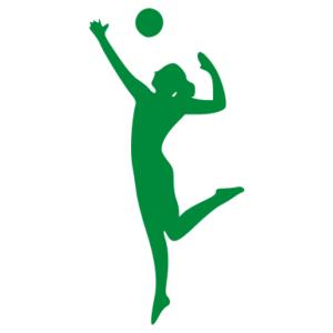 Röplabda női 02 matrica kép