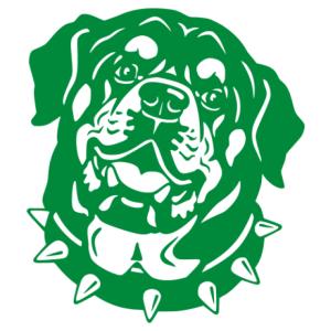 Rottweiler 002 matrica kép