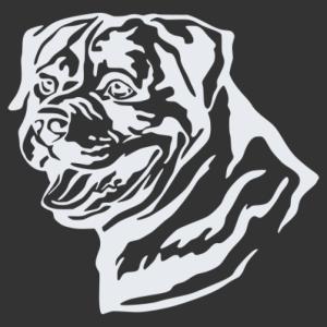 Rottweiler 003 matrica kép