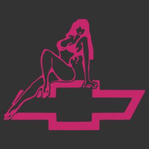 Sexy Chevrolet Girl 03 matrica kép
