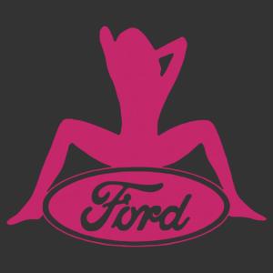 Sexy Ford Girl 02 matrica kép