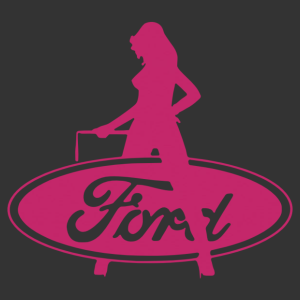 Sexy Ford Girl 03 matrica kép