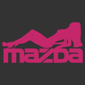 Sexy Mazda Girl matrica kép