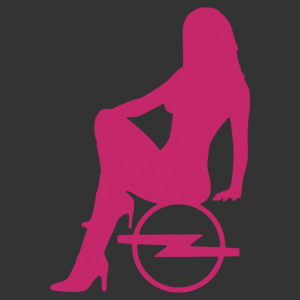 Sexy Opel Girl matrica kép