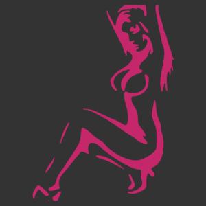 Sexy Stripper 02 matrica kép