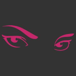 Sexy szemek matrica kép