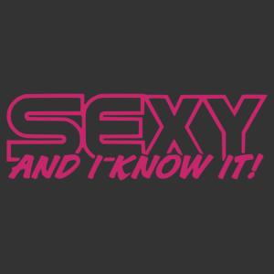 Sexy vagyok és tudom matrica kép