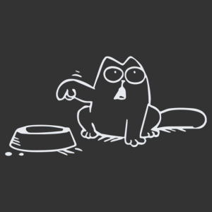 Simon macskája éhes autómatrica kép