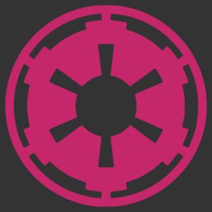 Star Wars - Birodalmi logó matrica kép