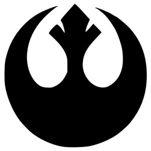 Star Wars - Lázadó szövetség (Rebel Alliance) logó matrica kép