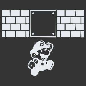 Super Mario matrica kép